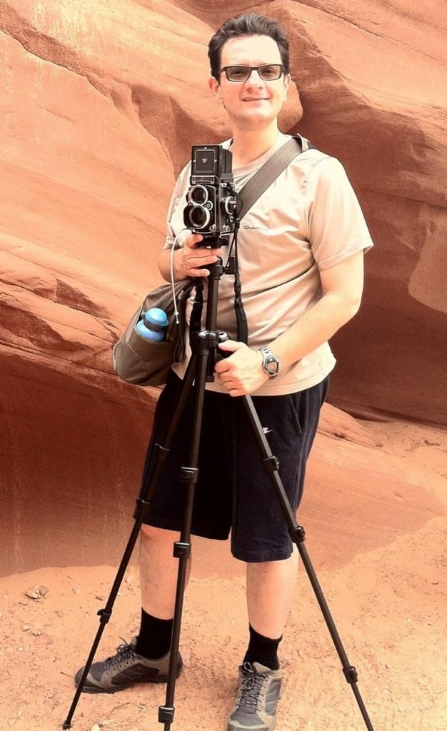 Fuori l'Antelope Canyon (Navajo Nation)