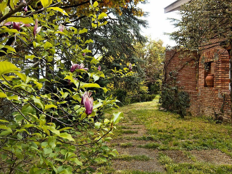 """Il giardino del B&B """"La Casa degli Scoiattoli"""" a Sasso Marconi (BO)"""