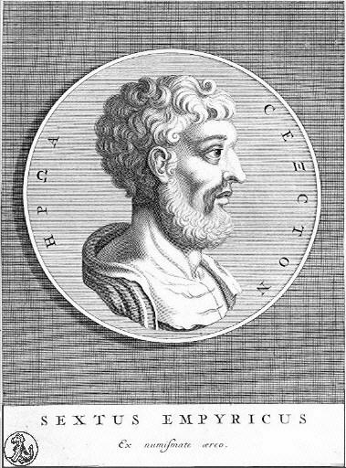 Sesto Empirico (fonte: Wikipedia)