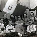 Una foto dall'archivio di famiglia. Una storia da raccontare.