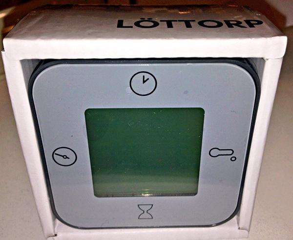 Lottorp un utile cronometro for Orologio ikea